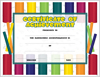 Achievement Certificate - Boomwhackers